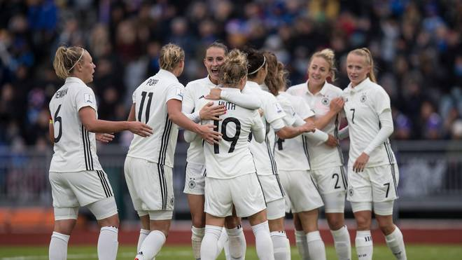 Iceland Women's v Germany Women's - 2019 FIFA Women's World Championship Qualifier