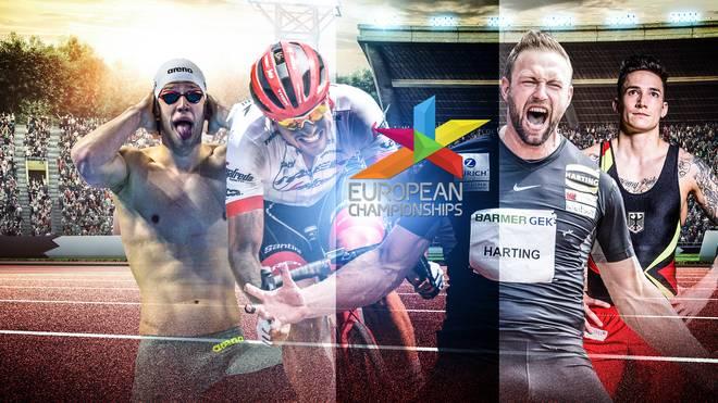 European Championships 2018 Live in ARD und ZDF