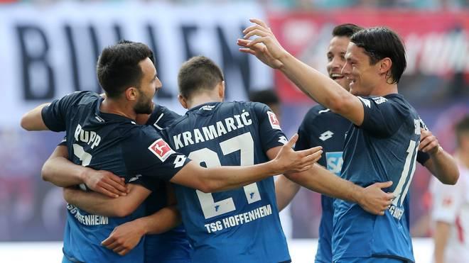 Die TSG Hoffenheim schoss in den ersten 31 Bundesliga-Partien die drittmeisten Tore