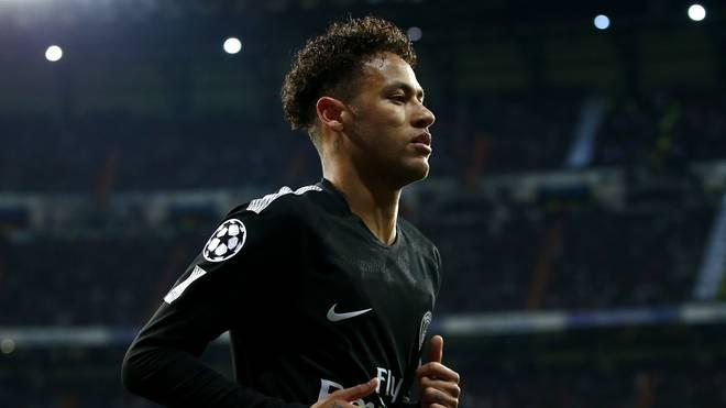 Neymar wurde zuletzt von Real Madrid umworben