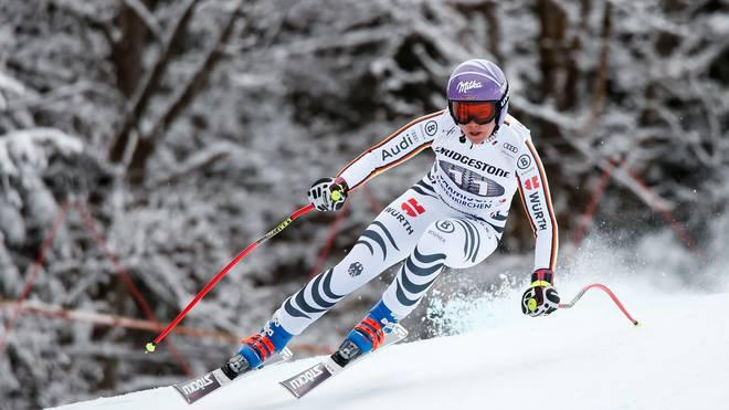 Viktoria Rebensburg hat in Pyeongchang gute Medaillenchancen