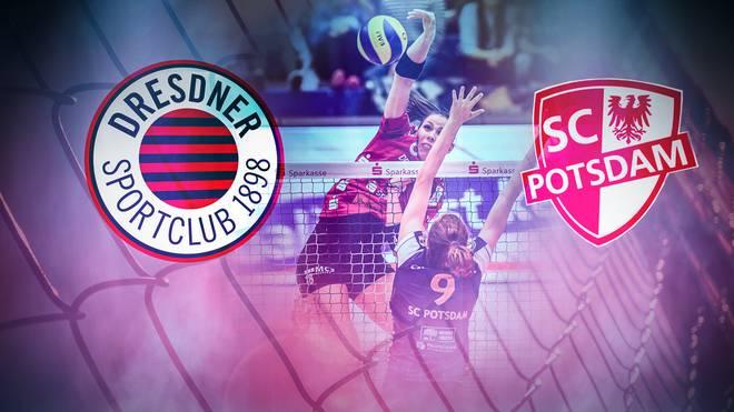 Volleyball-Bundesliga Frauen: Dresdner SC - SC Potsdam LIVE im TV