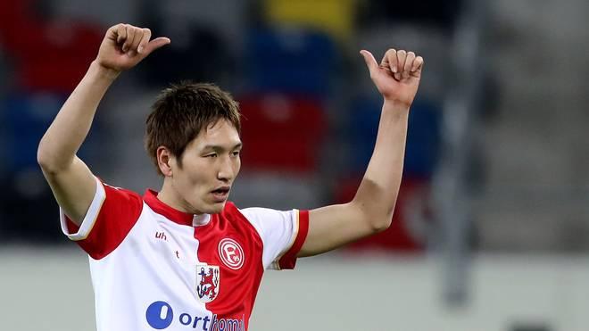 Genki Haraguchi will mit Fortuna Düsseldorf zurück an die Tabellenspitze