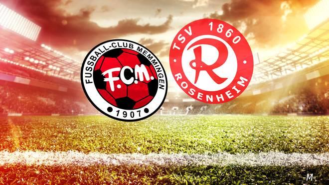 Der FC Memmingen trifft auf den TSV 1860 Rosenheim