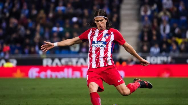 Filipe Luis spielt seit 2015 für Atletico Madrid