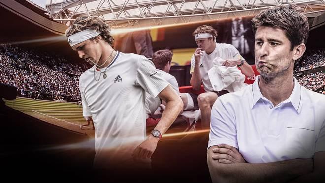 Alexander Zverev ist bei Wimbledon in der zweiten Runde ausgeschieden