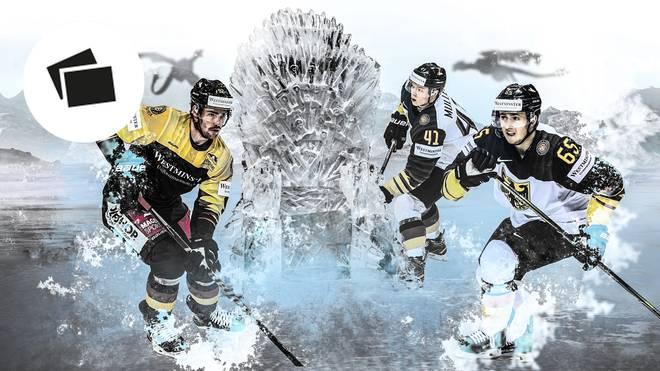 Einige deutsche Eishockey-Youngster riskieren für ihre GoT-Sucht sogar Ärger mit den Mitspielern
