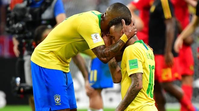Brasilien unterlag im Viertelfinale der WM gegen Belgien