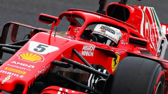 Formel 1, Japan: Lewis Hamilton im Training vor Bottas - Vettel Dritter