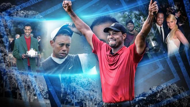 Tiger Woods feierte beim Masters in Augusta den 15. Majortitel seiner Karriere