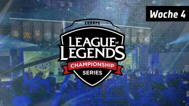 SPORT1 präsentiert die spannendsten Ereignisse des vierten Spieltags der EU LCS.