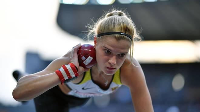 Louisa Grauvogel nimmt in Berlin erstmals an einer EM teil