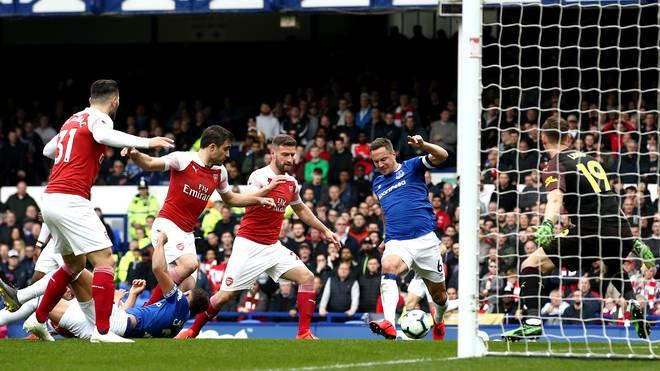 Phil Jagielka erzielte gegen Arsenal das goldene Tor für den FC Everton