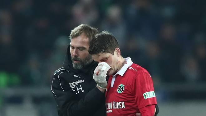 Pirmin Schwegler (r.) musste in der 62. Minute ausgewechselt werden