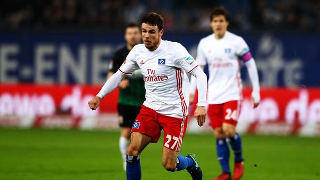 Nicolai Müller spielte seit 2014 für den Hamburger SV