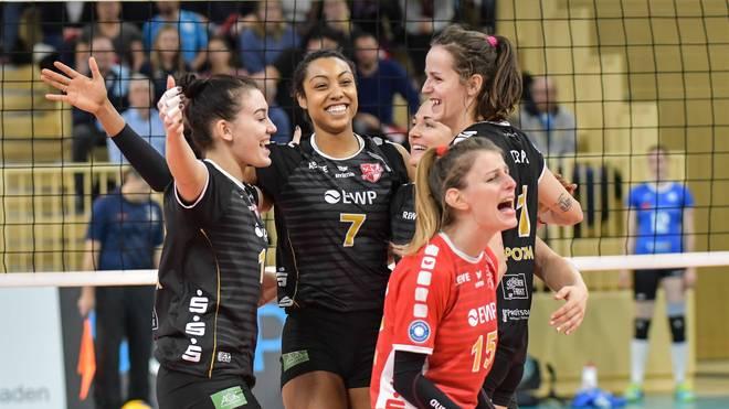 DVV-Pokal Der SC Potsdam freut sich über seinen Einzug ins Halbfinale des DVV-Pokals
