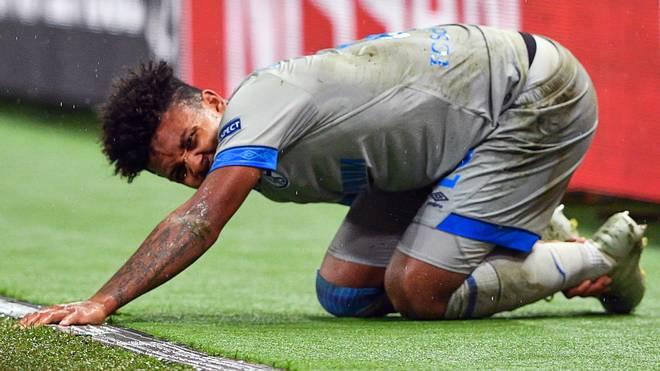 Weston McKennie verletzte sich im Bundesligaspiel gegen Fortuna Düsseldorf
