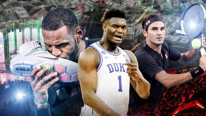 LeBron James und Co.: Die Sportler mit den größten Werbe-Verträgen