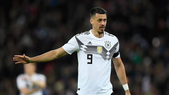 Sandro Wagner will mit Deutschland den WM-Titel verteidigen