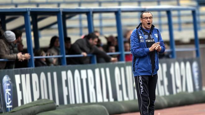 Maurizio Sarri empfahl sich beim kleinen FC Empoli für den Job in Neapel