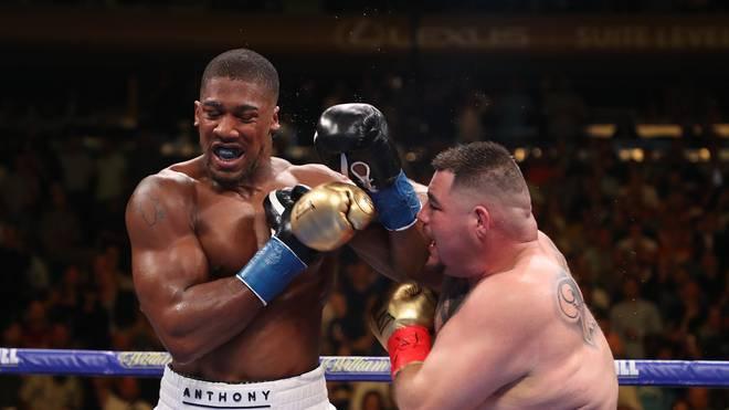 Anthony Joshua während seines Kampfes gegen Andy Ruiz jr.