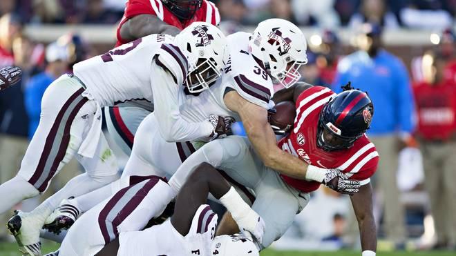 Beim College-Football-Kracher in Mississippi kam es zum Eklat