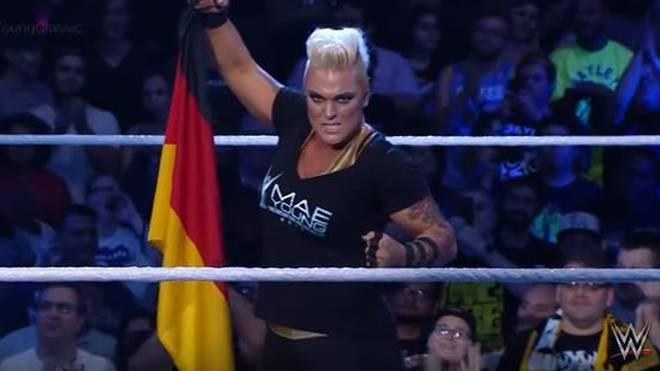 Die Berlinerin Jazzy Gabert hat die Herzen der WWE-Fans im Sturm erobert