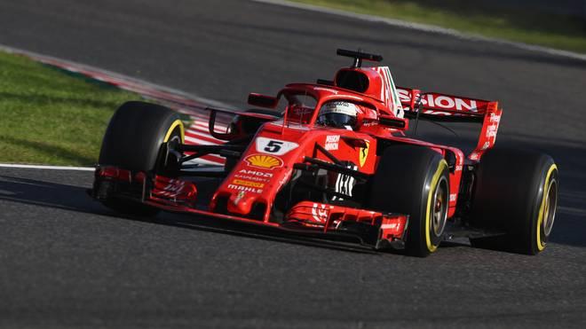 Sebastian Vettel blieb auch beim Großen Preis von Japan nicht fehlerfrei