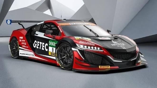 Schubert setzt 2018 im GT-Masters den Honda NSX GT3 ein