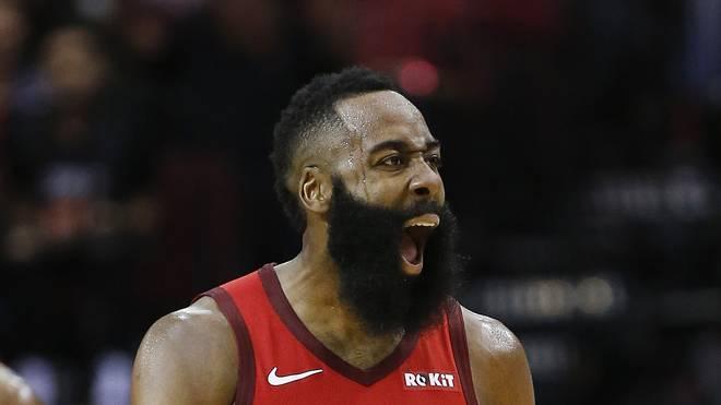 NBA: James Harden von Houston Rockets auf Spuren von Wilt Chamberlain