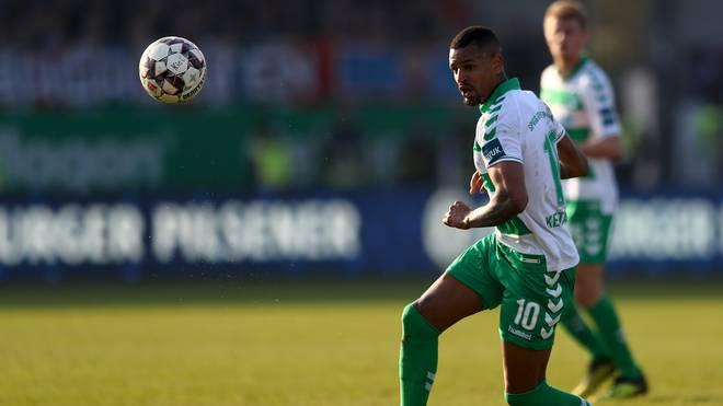 Daniel Keita-Ruel hat sich nach seinem Wechsel im Sommer bei Greuther Fürth etabliert