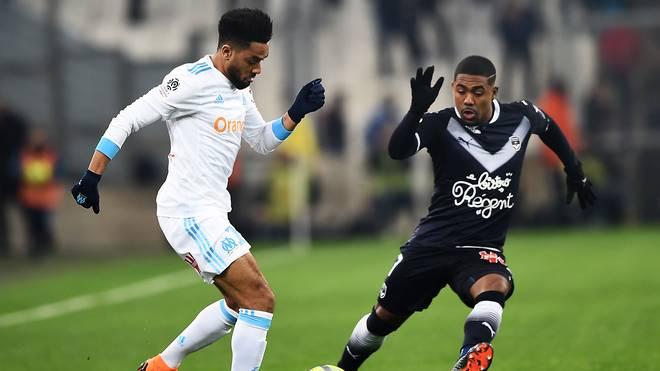 Malcom (r.) läuft für den französischen Klub Girondins Bordeaux auf