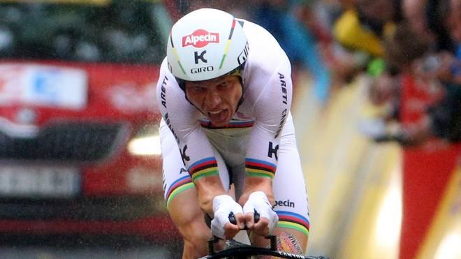 Tony Martin zog sich bei der Tour de France einen Wirbelbruch zu