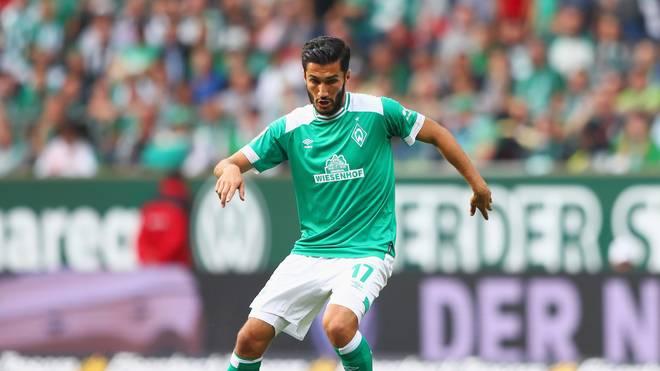 Bremens Nuri Sahin sitzt gegen Wolfsburg nur auf der Bank