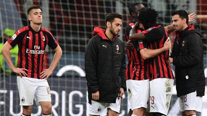 Der AC Milan feiert einen wichtigen Sieg gegen Bologna