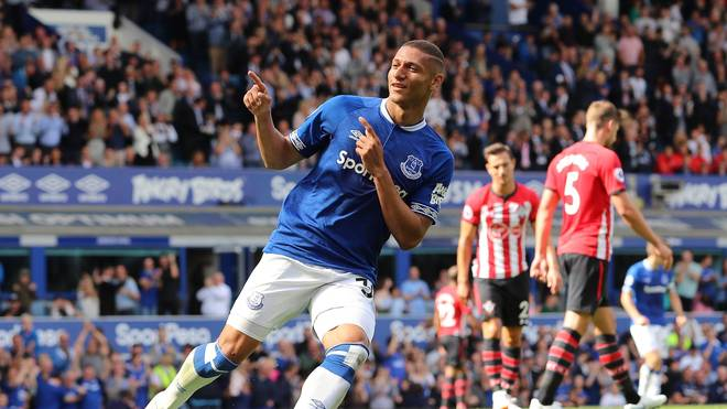 Richarlison bejubelt ein Tor gegen Southampton