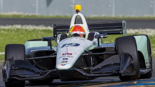 Pietro Fittipaldi fährt 2018 sieben IndyCar-Rennen für Dale Coyne Racing