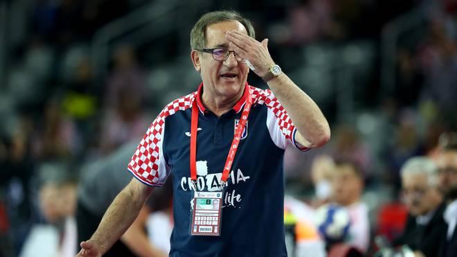 Kroatiens Nationaltrainer Lino Cervar gilt als Heißsporn