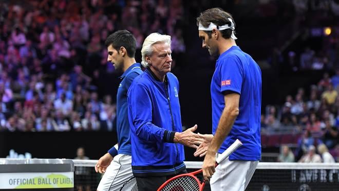 Laver Cup: Roger Federer/Novak Djokovic verlieren Doppel