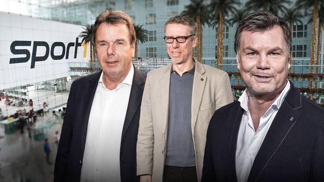 Heribert Bruchhagen und Peter Stöger sind am Sonntag im CHECK24-Doppelpass zu Gast