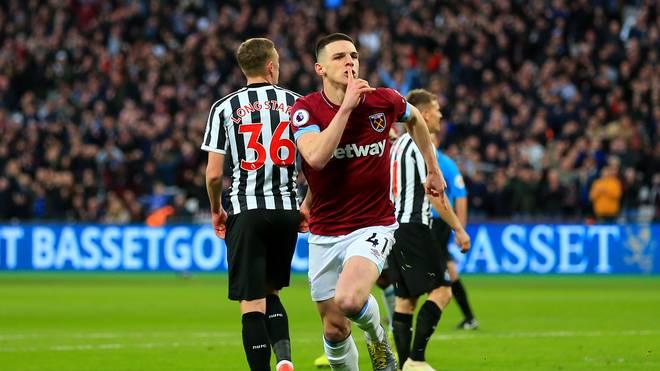 Declan Rice von West Ham United darf demnächst für England auflaufen