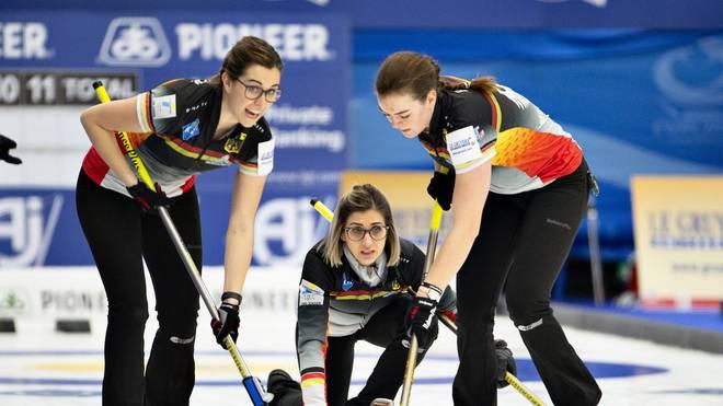Die deutschen Curling-Frauen haben bei der WM keine Chance mehr auf das Halbfinale