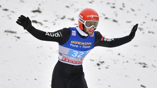 Markus Eisenbichler liegt in der Gesamtwertung der Vierschanzentournee auf Platz zwei