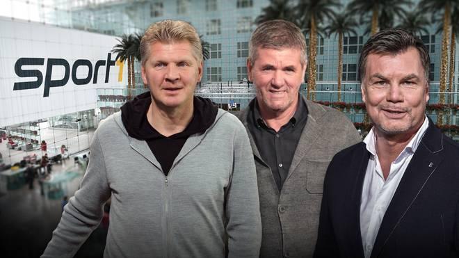 CHECK24 Doppelpass mit Stefan Effenberg, Friedhelm Funkel, Reinhold Beckmann