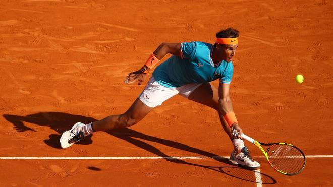 Rolex Monte-Carlo Masters - Day Six Rafael Nadal kam gegen Fabio Fognini meist einen Schritt zu spät