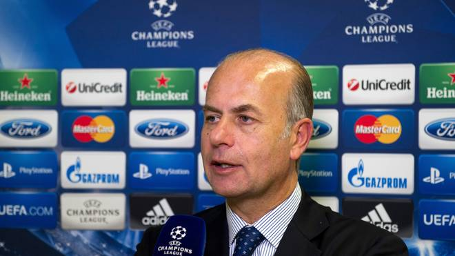 Umberto Gandini war seit der Saison 2016/17 Geschäftsführer des AS Rom