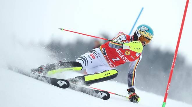 Ski Alpin Slalom Der Herren Mit Felix Neureuther Und Marcel Hirscher