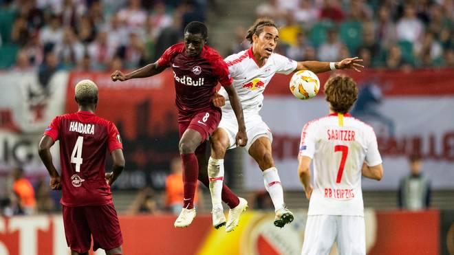 RB Leipzig ist in der Europa League beim FC Salzburg gefordert
