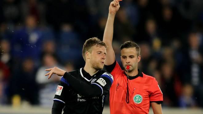 Brian Behrendt fehlt nach einer Roten Karte gegen Duisburg im Derby gegen den SC Paderborn