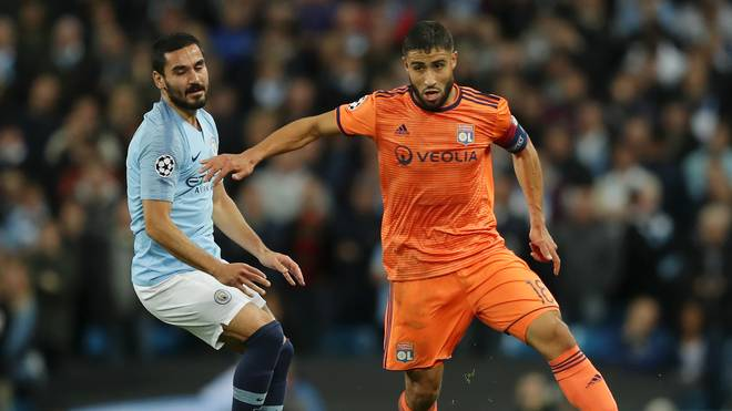 Manchester City v Olympique Lyonnais - UEFA Champions League Group F